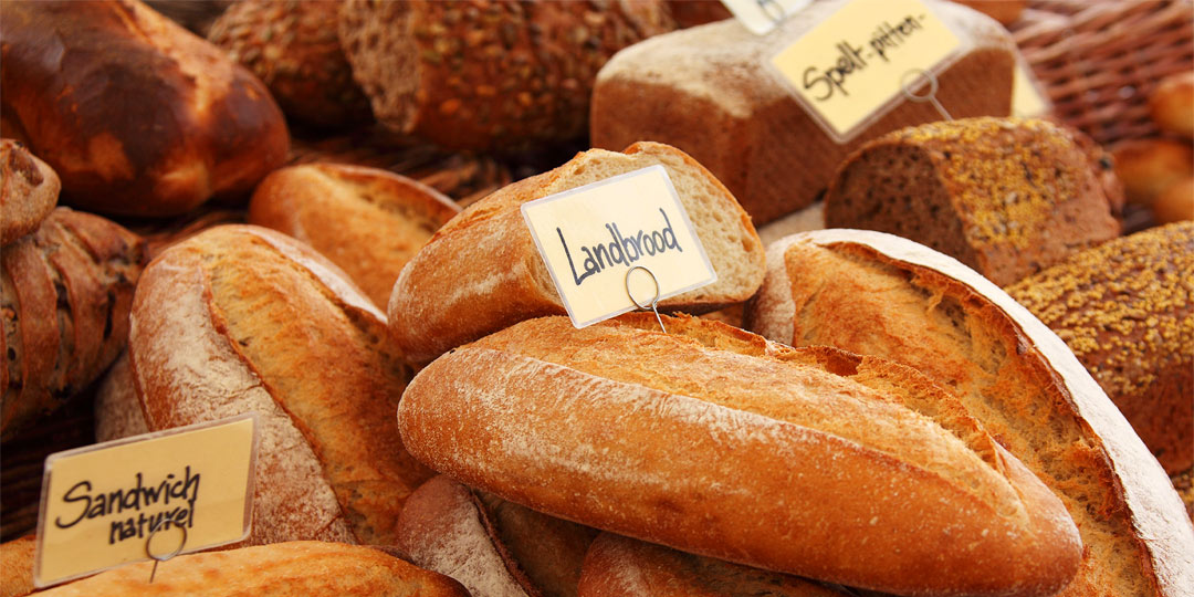 Image of Bread Products to show Visitors what's on offer
