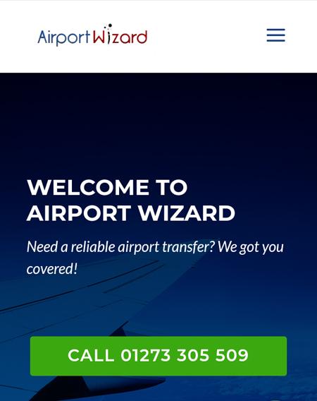 Airport Wizard Website