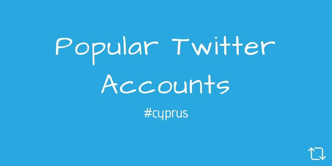 Popular Cyprus Twitter Accounts