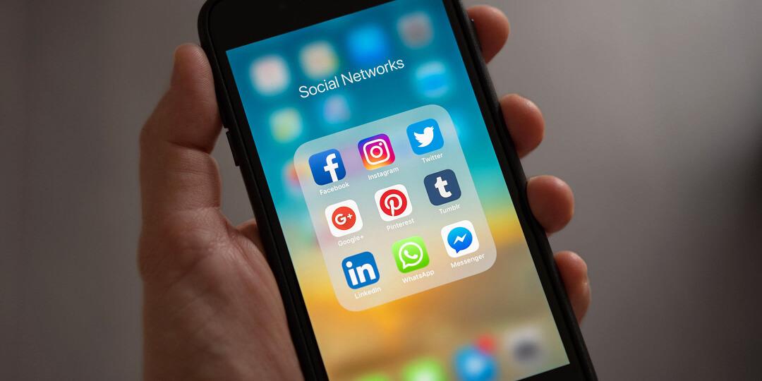 Image of social media platforms - Virtualeap Web Design Cyprus