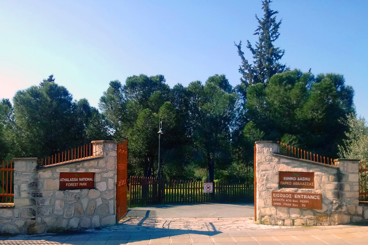 Athalassa National Forest Park Nicosia Cyprus