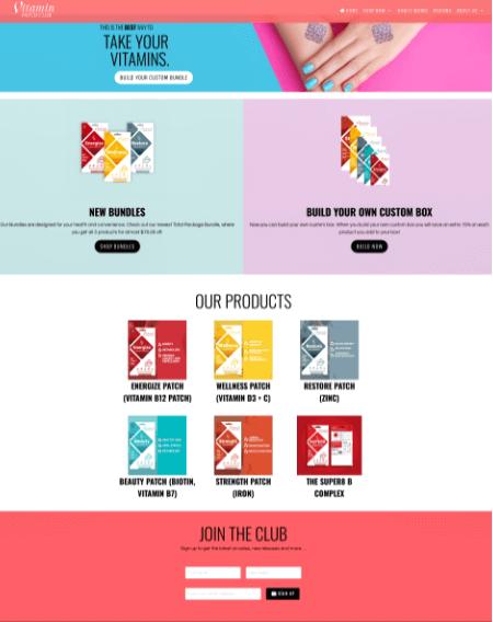 Shopify-Web-Design-Cyprus-Vitamin-Shave-Club